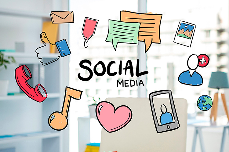 social media facebook instagram twitter DEWAPS