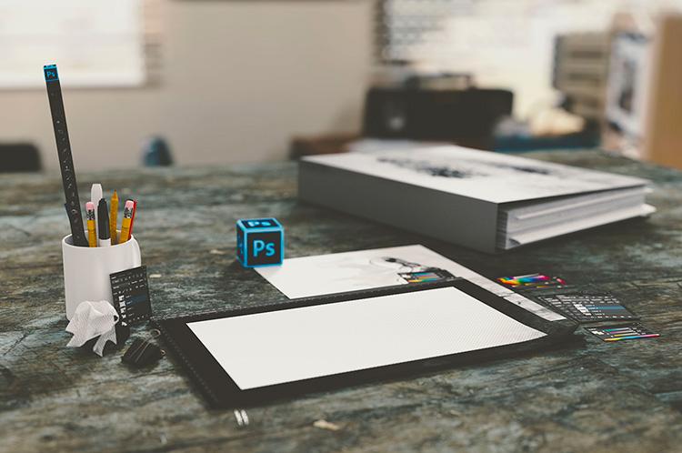 diseño gráfico Diseño de logos banners tarjetas DEWAPS Managua